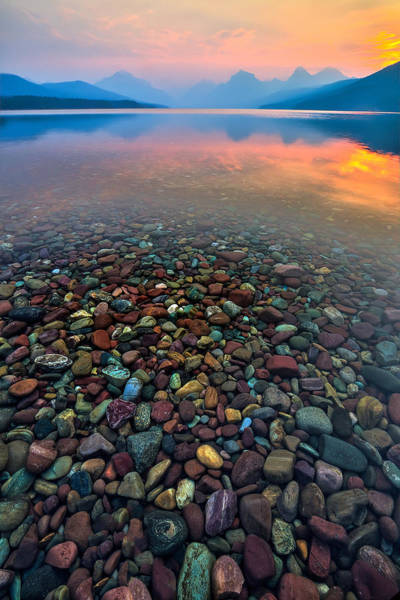 Photograph - Lake Of Fire by Ryan Smith