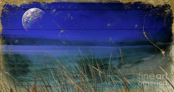 Wall Art - Painting - Lake Of Stars II by Mindy Sommers