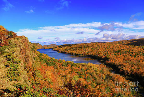 Photograph - Lake Of The Clouds Fall Glory by Rachel Cohen