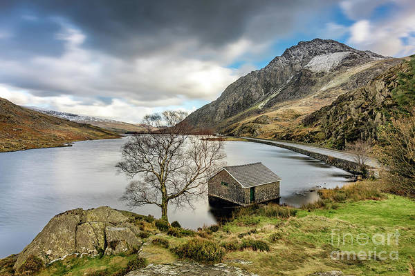 Wall Art - Photograph - Lake Ogwen Snowdonia by Adrian Evans