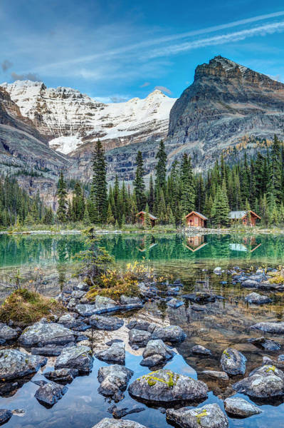 Photograph - Lake O'hara At Dusk by Pierre Leclerc Photography