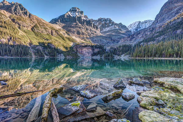 Photograph - Lake O'hara Mountain Haven by Pierre Leclerc Photography