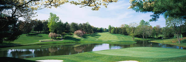 Bethesda Photograph - Lake On A Golf Course, Congressional by Panoramic Images