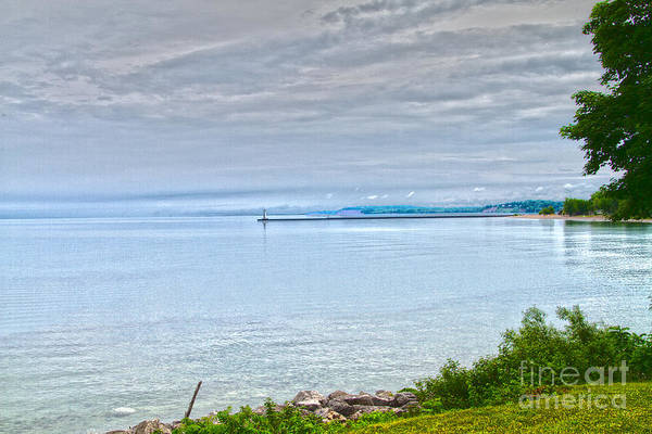 Photograph - Lake Ontario At Sodus Bay by William Norton