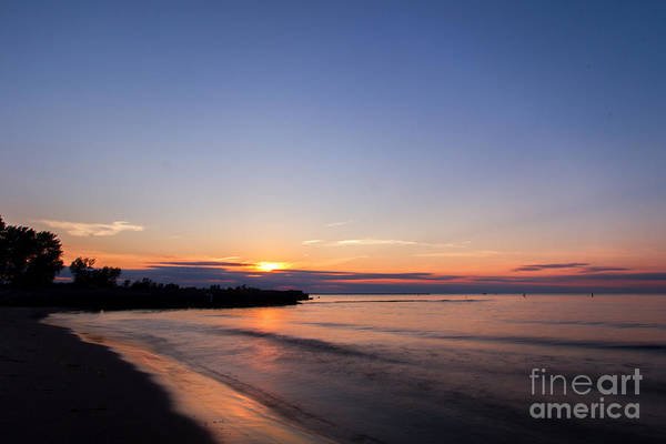 Photograph - Lake Ontario Beach Sunset by Rod Best