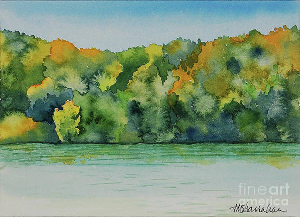 Wall Art - Painting - Lake Ozark by Annette McGarrahan