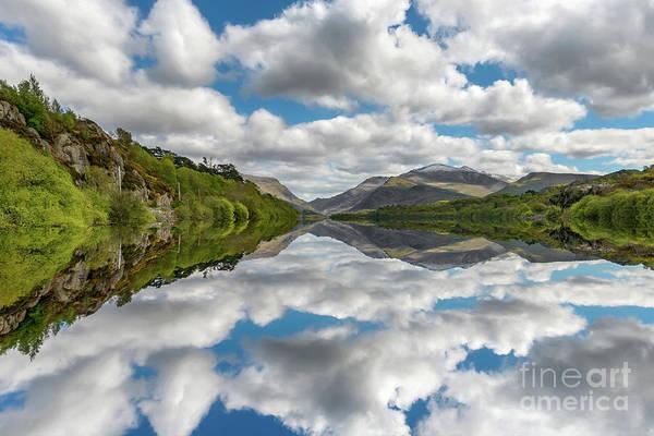 Wall Art - Photograph - Lake Padarn Snowdonia by Adrian Evans