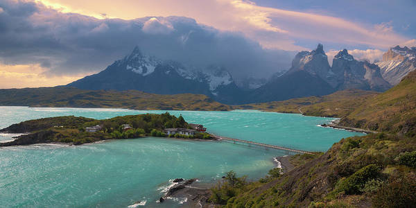 Photograph - Lake Pehoe, Torres Del Paine National Park by Giovanni Allievi