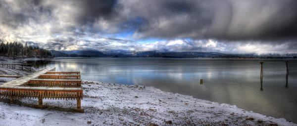 Photograph - Lake Pend D'oreille At 41 South by Lee Santa