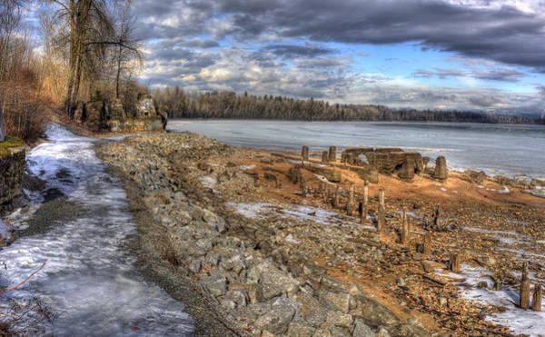 Photograph - Lake Pend D'oreille At Humbird Ruins 2 by Lee Santa