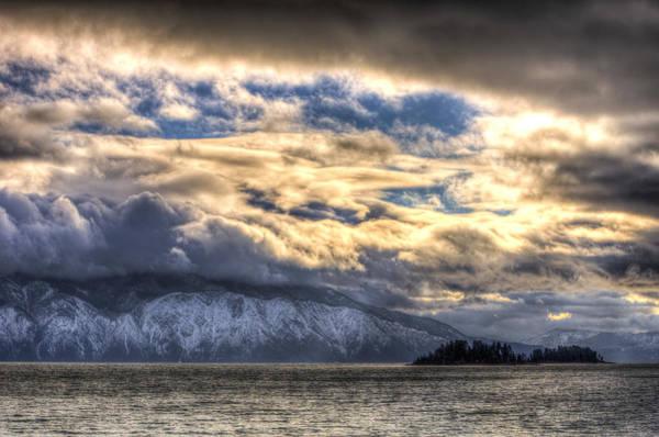 Photograph - Lake Pend Oreille, Idaho by Jedediah Hohf