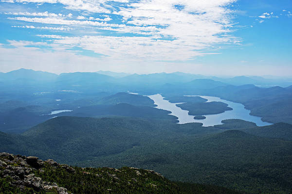 Photograph - Lake Placid From Whiteface Mountain Adirondacks Upstate New York Wilmington by Toby McGuire