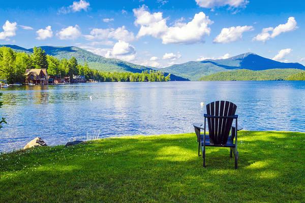 Upstate New York Photograph - Lake Placid Summer by Joseph Plotz