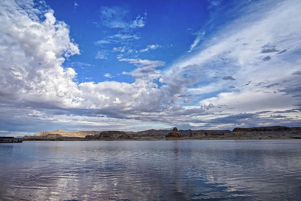 Photograph - Lake Powell In The Morning by Leda Robertson