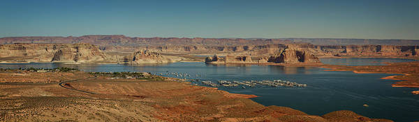 Wall Art - Photograph - Lake Powell Marina Panorama by Ricky Barnard