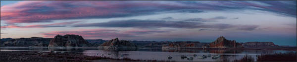 Photograph - Lake Powell Panorama by Erika Fawcett