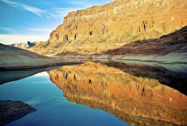 Photograph - Lake Powell Reflection by William T Templeton