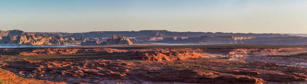 Photograph - Lake Powell Sunrise Panorma by Lon Dittrick