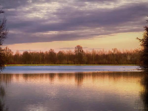 Photograph - Lake Reflection by Wim Lanclus