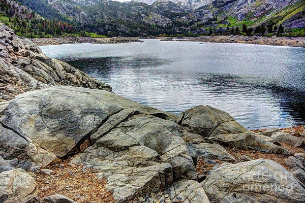 Photograph - Lake Sabrina 5 by Joe Lach