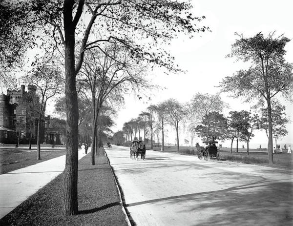 Wall Art - Photograph - Lake Shore Drive - Chicago 1905 by Daniel Hagerman