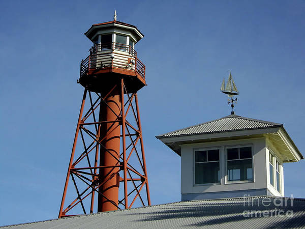 Photograph - Lake Sumter Landing Lighthouse by D Hackett