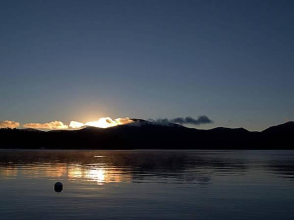 Photograph - Lake Sunrise by Newwwman