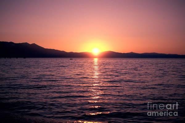 Photograph - Lake Sunset 8pm by Joe Lach