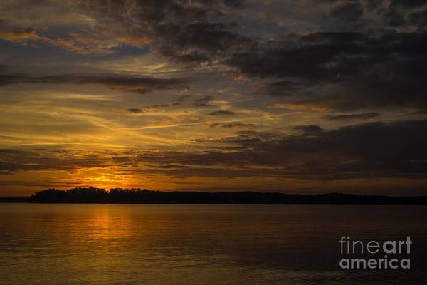 Wall Art - Photograph - Lake Sunset by Holden Parker