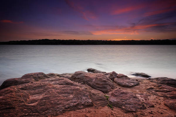 Lake Sunset Photograph - Lake Sunset Iv by Ricky Barnard