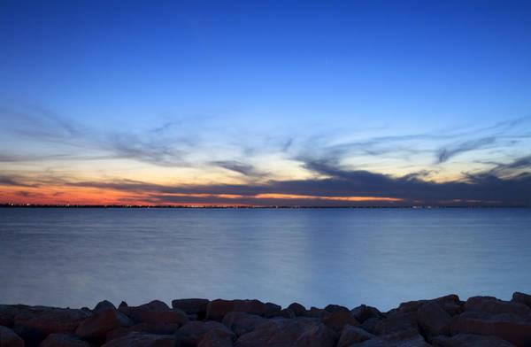 Lake Sunset Photograph - Lake Sunset by Ricky Barnard