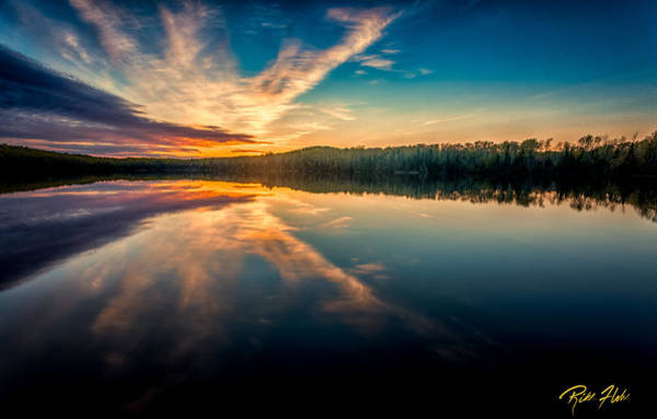 Photograph - Lake Sunset by Rikk Flohr