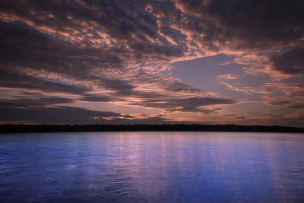 Lake Sunset Photograph - Lake Sunset Xv by Ricky Barnard