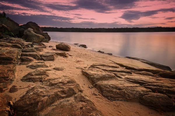 Wall Art - Photograph - Lake Sunset Xvii by Ricky Barnard
