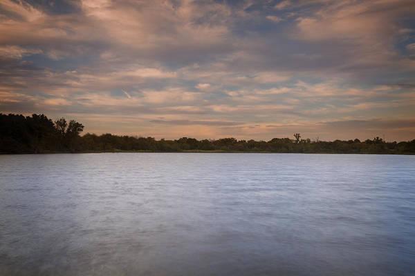 Wall Art - Photograph - Lake Sunset Xviii by Ricky Barnard
