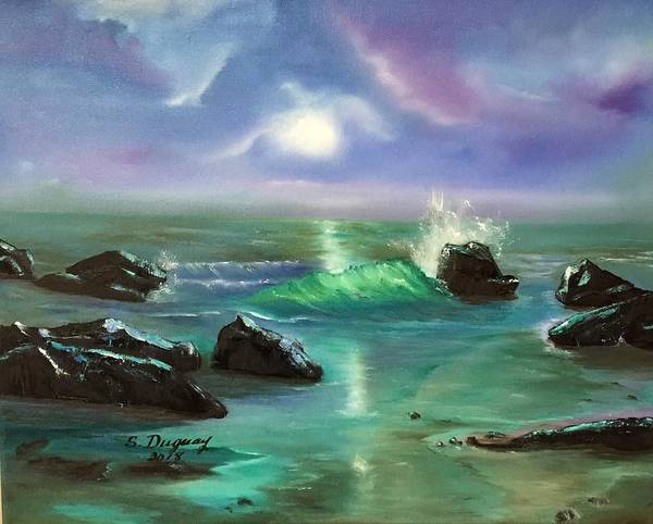 Painting - Lake Superior Evening by Sharon Duguay