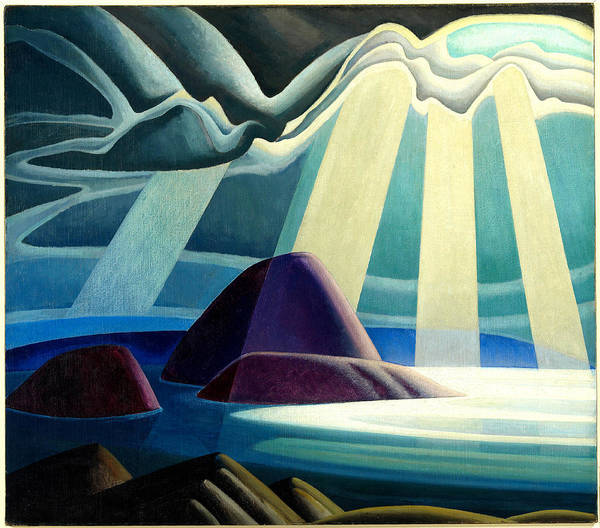 Wall Art - Painting - Lake Superior by Lawren Harris