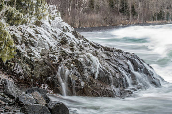 Wall Art - Photograph - Lake Superior Motion by Paul Freidlund