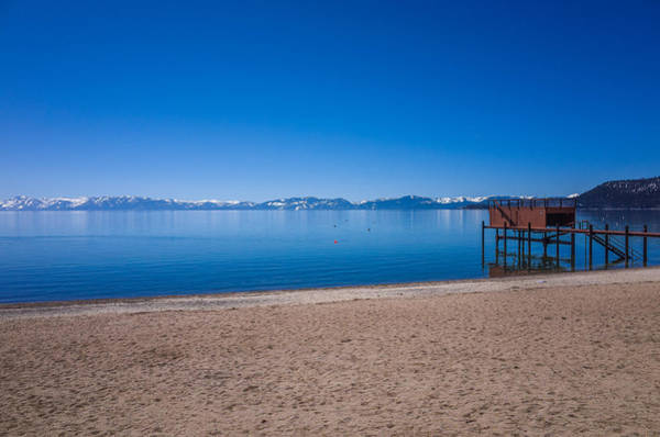 Photograph - Lake Tahoe Beach Spring Morning by Scott McGuire