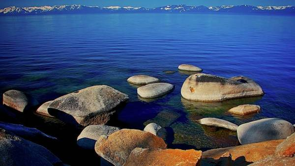 Photograph - Lake Tahoe Blue, California by Flying Z Photography by Zayne Diamond