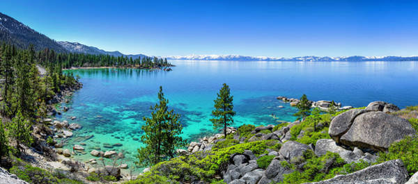 Photograph - Lake Tahoe Blue by Tony Fuentes