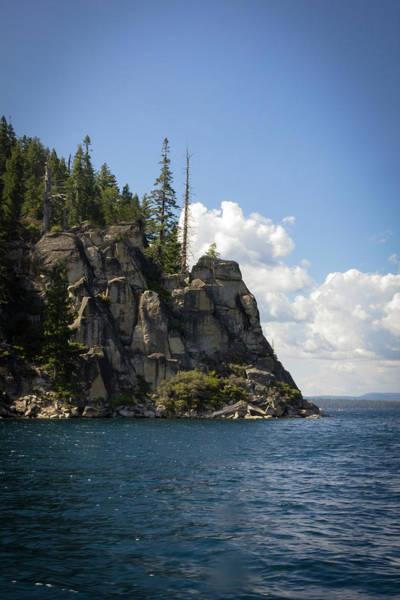 Photograph - Lake Tahoe Cliffs by Bryant Coffey