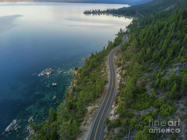 Photograph - Lake Tahoe Drive  by Michael Ver Sprill