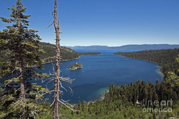 Photograph - Lake Tahoe Emerald Bay by Cindy Murphy - NightVisions