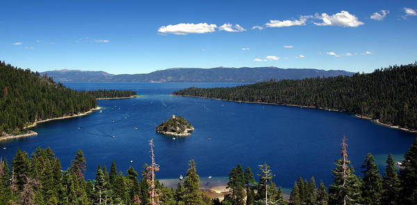 Lake Tahoe Emerald Bay Art Print