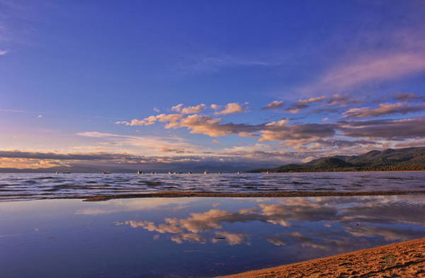 Lake Tahoe Evening Art Print