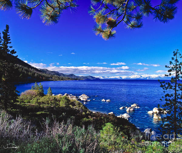Wall Art - Photograph - Lake Tahoe Hidden Beach by Vance Fox