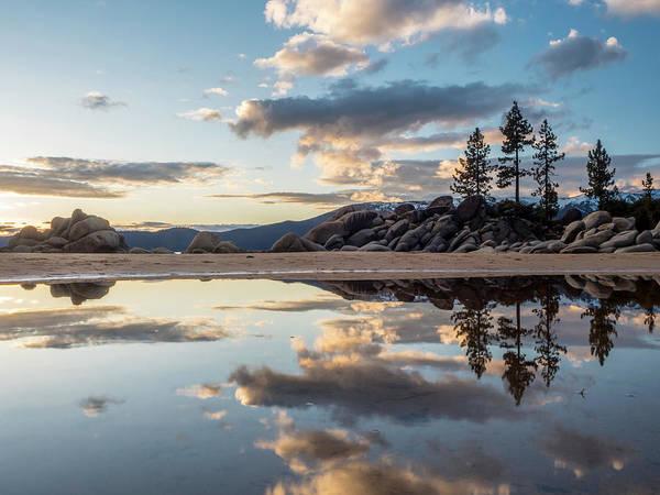 Lake Tahoe Mirror Art Print