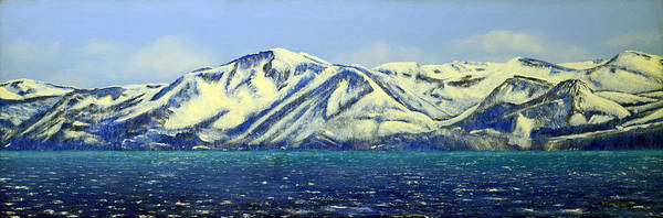 Painting - Lake Tahoe Mountain Vista by Frank Wilson