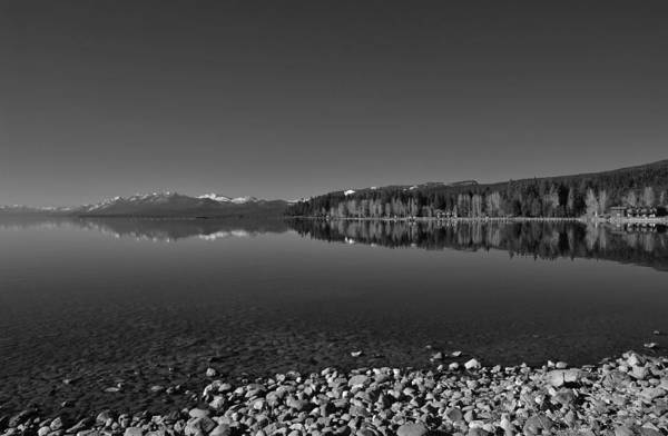 Photograph - Lake Tahoe Reflections by Marilyn MacCrakin
